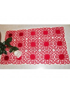 Кружевная рождественская салфетка fsl00230