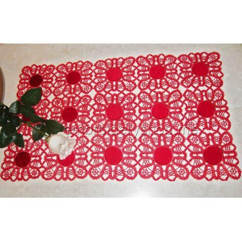 Кружевная рождественская салфетка fsl0030