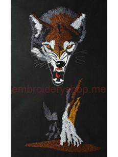 Волк (средний размер) wlf0001