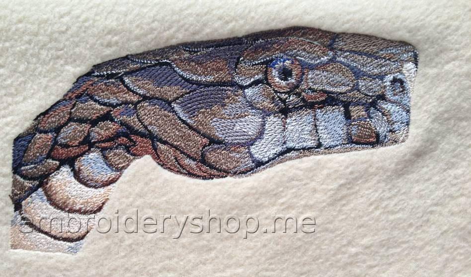 Змея snk0003 фотография вышивки