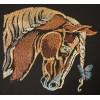 Лошадь с бабочкой hrs0005
