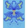 Бабочка Фантазия cut0040_140x200 (4 части)