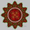 Салфетка «Виноградные листья» cut0041_180*300