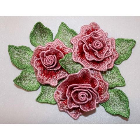 Объёмные розы fsl0032