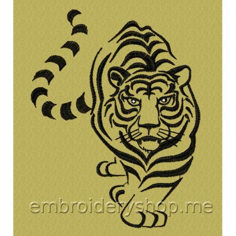 Тигр tgr0022
