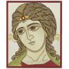 Ангел Злотые власа ppl0026