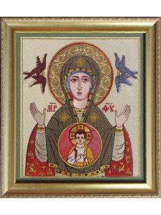 Икона Пресвятой Богородицы «Знамение» smb0017