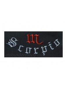 "Надпись ""Scorpio""_ins0006"