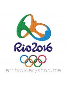 Олимпиада 2016 логотип