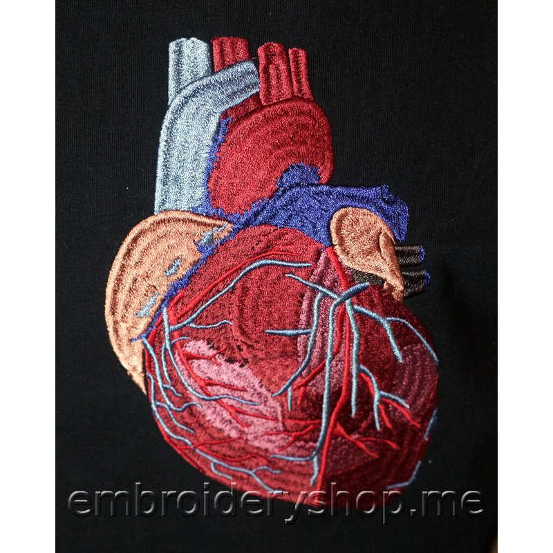 Сатиновое сердце hrt0014