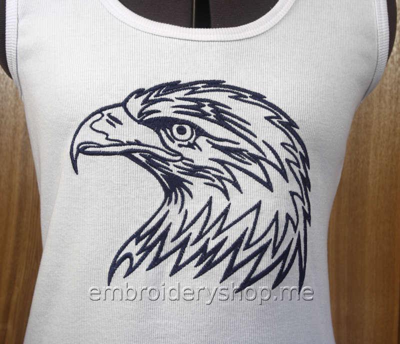 Дизайн машинной вышивки Орёл brd0049