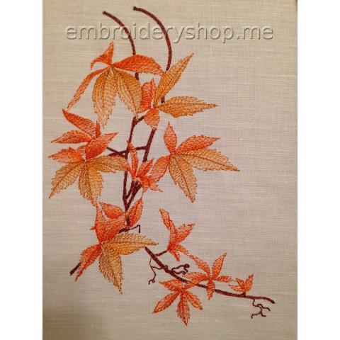 Веточка с листьями Lvs0008