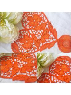 Дизайн машинной вышивки кружевная салфетка fsl0063