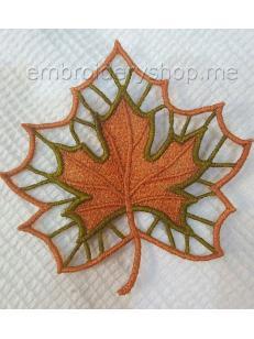 Дизайн машинной вышивки Кружевной лист fsl0066