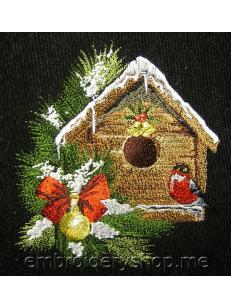 """Дизайн машинной вышивки """"С Новым годом!"""" nyr0051"""
