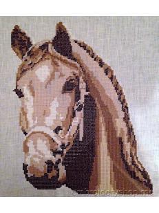 Дизайн машинной вышивки Лошадка crs0010