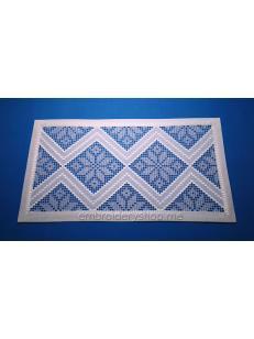 Дизайн машинной вышивки Салфетка «Снежинки» pmt0022