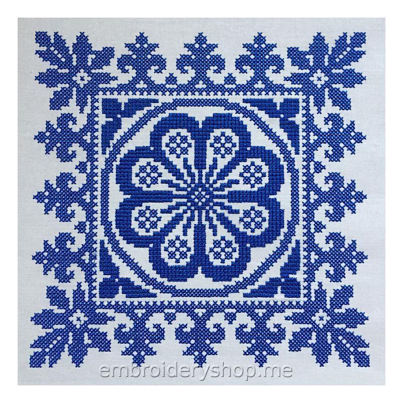 Дизайн машинной вышивки Орнамент crs0012
