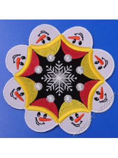 Салфетка «Снеговики» nyr0052