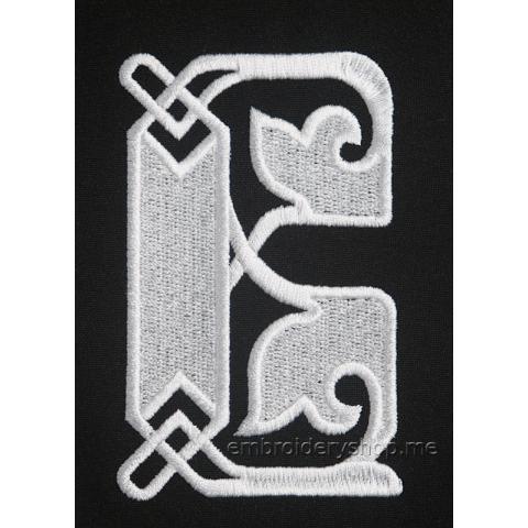 Монограмма буква В f0041_03