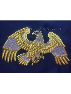 Дизайн машинной вышивки Орел brd0041