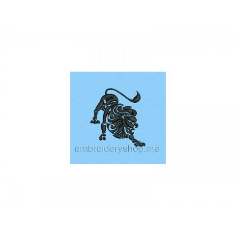 Лев, знак зодиака zod0065
