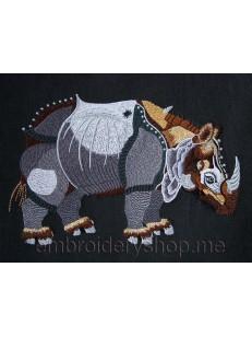 Носорог большой размер_anm0012
