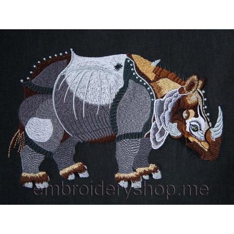 Носорог большой размер anm0012