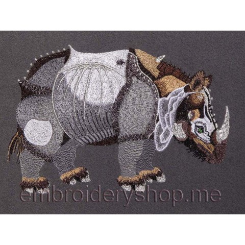 Носорог средний размер anm0014