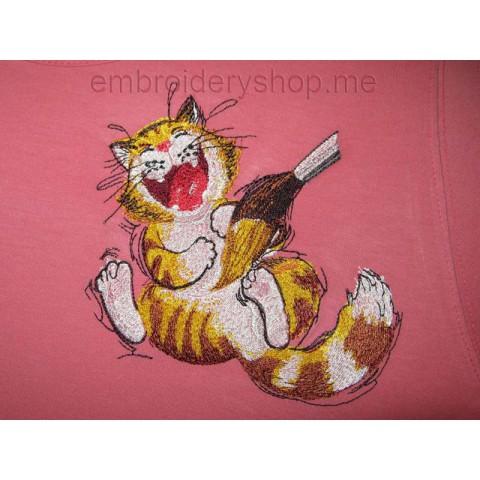 Улыбка художника cat0014