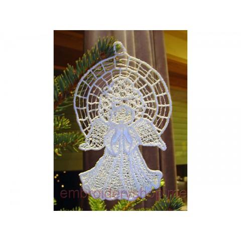 Ангел, украшение на ёлку fsl0015