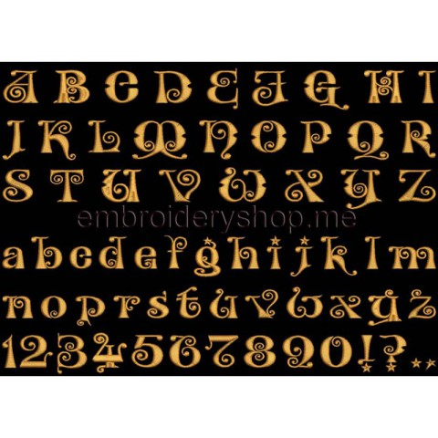 Шрифт английский_f0010_30 мм