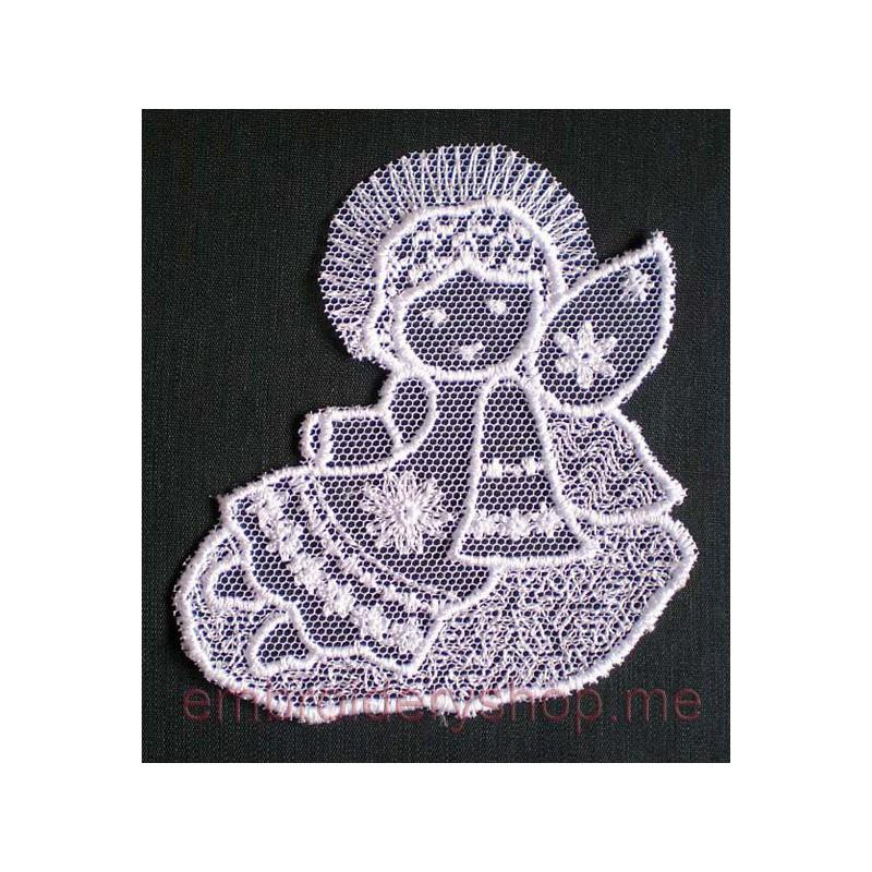 Дизайн машинной вышивки Ангел_fsl0012