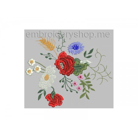 Полевые цветы flw0051