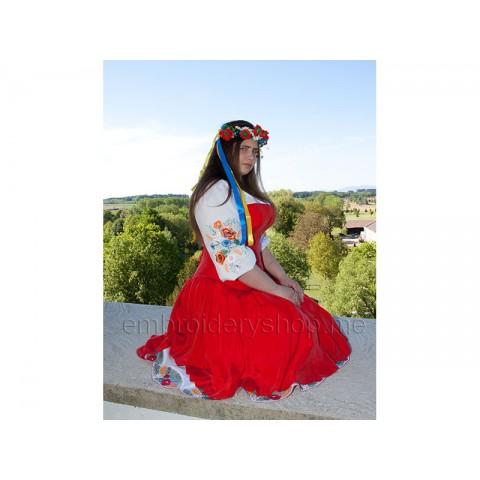 Украинская вышивка flw0056