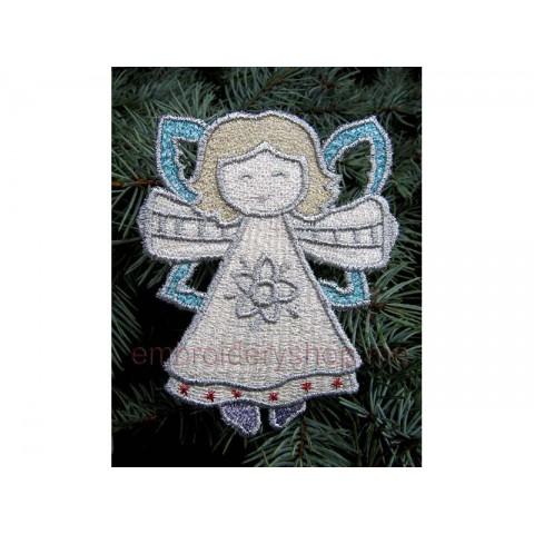Ангел, украшение на ёлку fsl0019