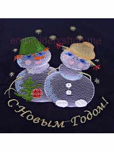 Снеговики nyr0015