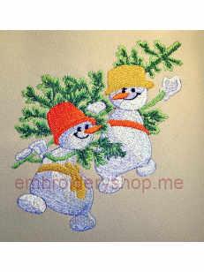 Снеговики nyr0008