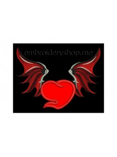 Сердце с крыльями hrt0010